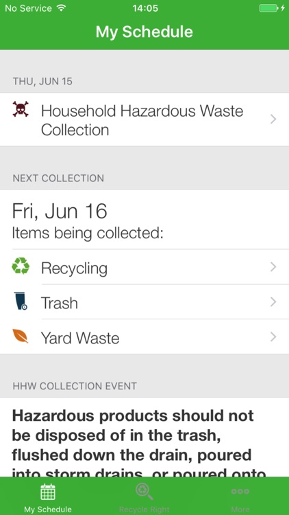 Recycle Right Newton