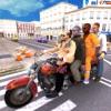自行车赛车:出租车司机