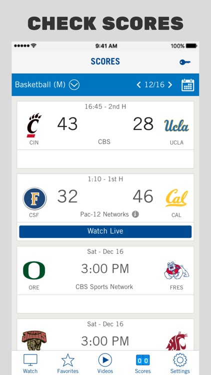 Pac-12 Now screenshot-4