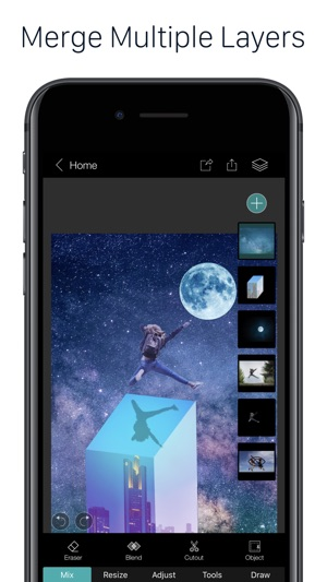 PhotoLeaf Photo Editor Screenshot