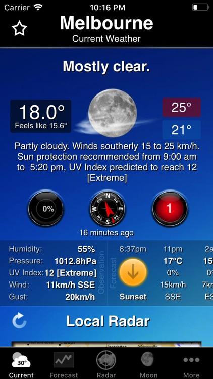 Australia Weather Information screenshot-0