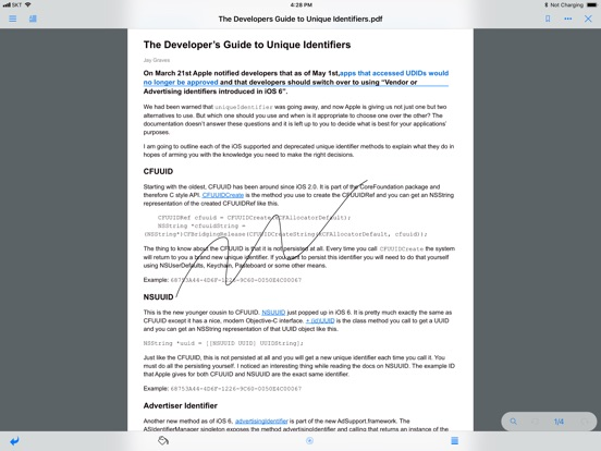 ezPDF Reader Screenshots