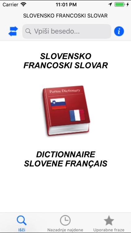 Dictionnaire Français Slovene