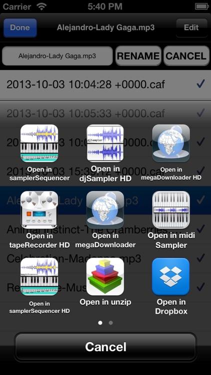 tapeRecorder screenshot-3
