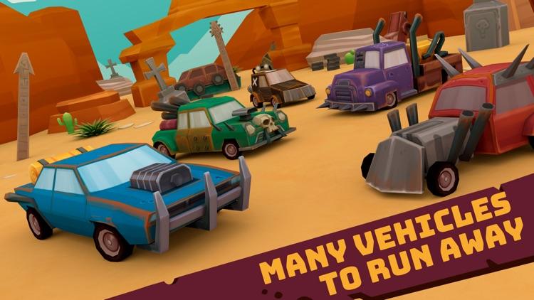 RC Mad Chase - Cars vs Cops screenshot-3