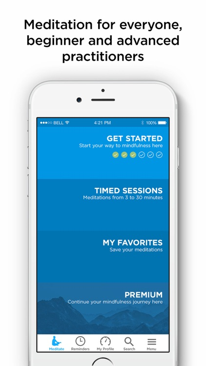The Mindfulness App - meditate screenshot-0