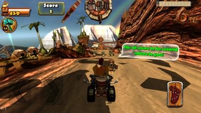 Image of Tiki Kart Island for iPhone