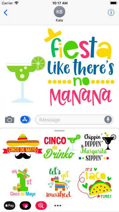Cinco de Mayo - Stickers 2018 screenshot two