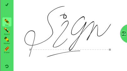 Screenshot #1 pour JustSign - PDFs and Documents