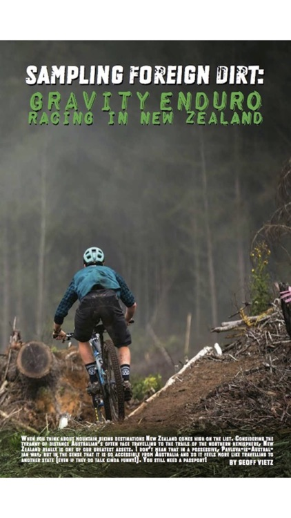 Enduro Magazine: Leading Mountain Bike Publication for Riders screenshot-3