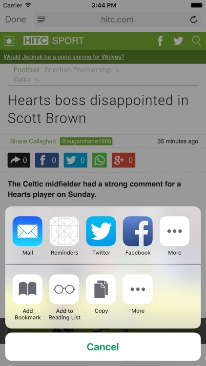 FN365 - Celtic News Edition screenshot-4