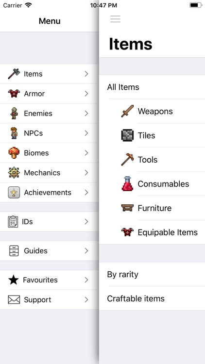Pocket Wiki Plus for Terraria screenshot-0