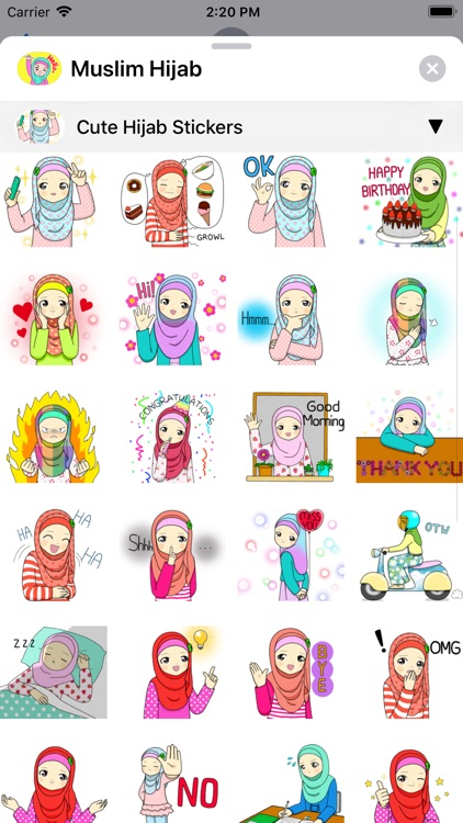 Muslim Hijab screenshot-5
