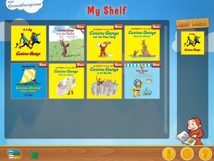 Curious George: Book Reader screenshot-1