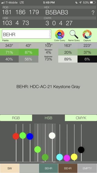 Color Query Pro Screenshots