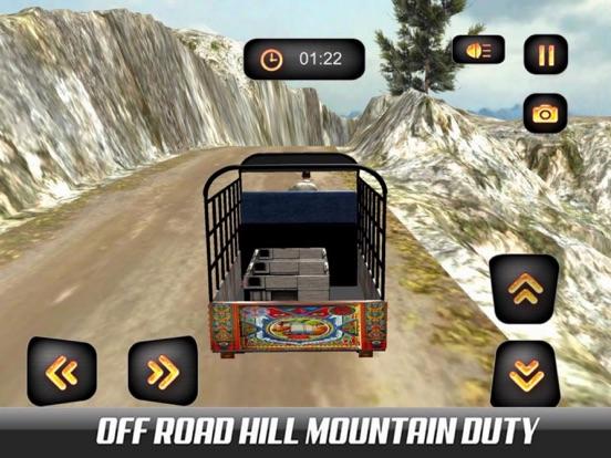 Hill Chingchi Rickshaw 3D screenshot 6