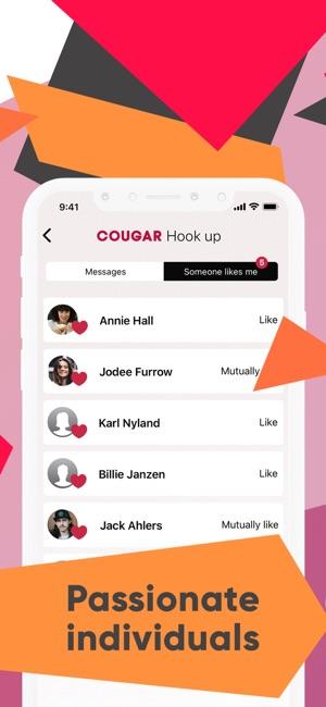 beste app om hook up met Cougars Dating gescheiden ouders