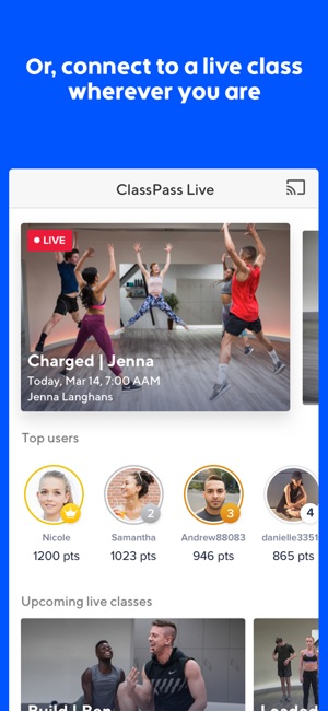 Some Known Factual Statements About Classpass Live