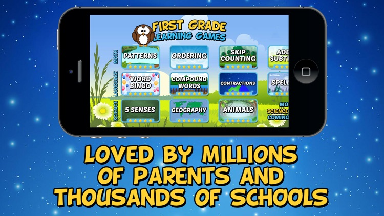 First Grade Learning Games SE screenshot-4