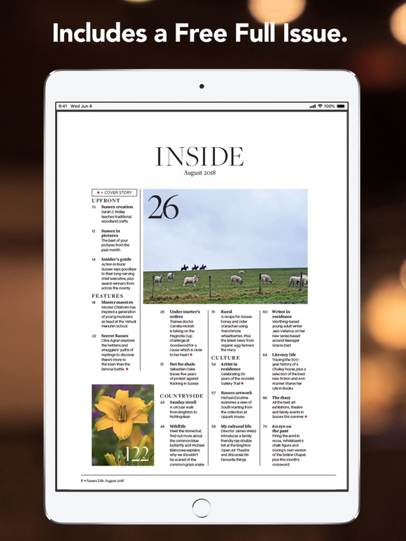 Sussex Life Magazine-ipad-1