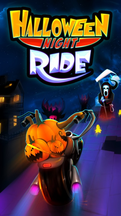 Halloween Night Ride Game screenshot-0