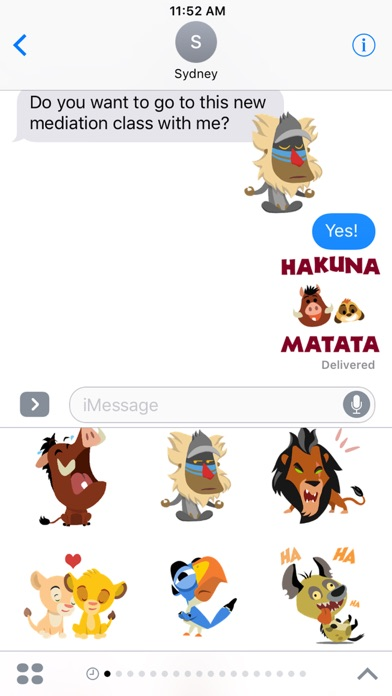 Download Disney Stickers: The Lion King for Pc
