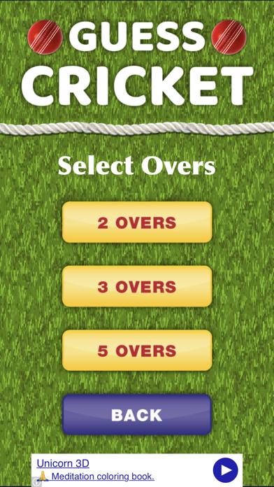 Guess Cricket 2018 screenshot two