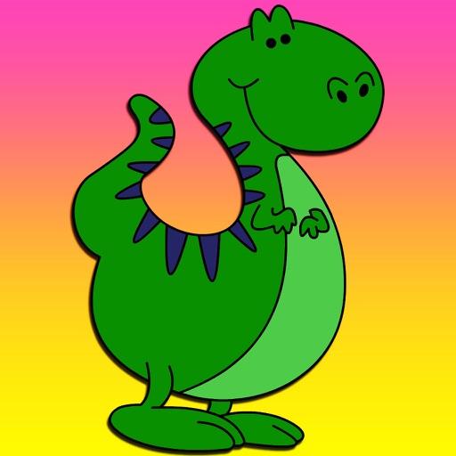 超级恐龙简笔画
