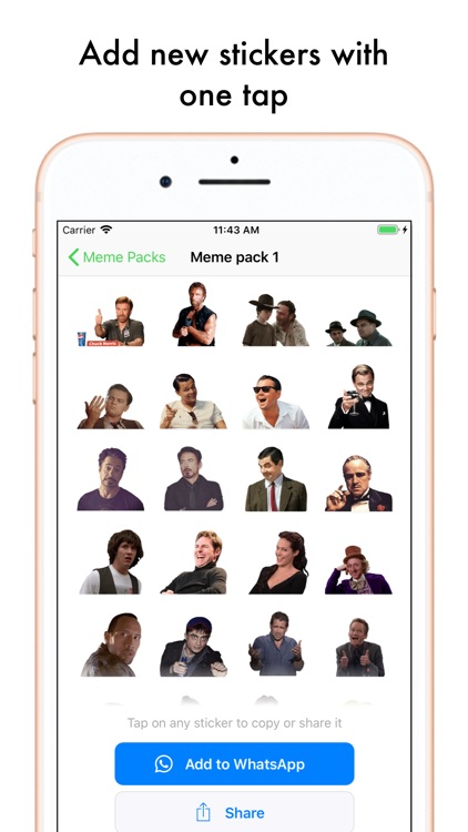 Top Stickers Memes Funny screenshot-4