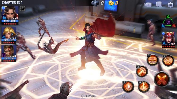 MARVEL Future Fight screenshot-6