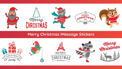 screenshot 10 for 100 merry christmas stickers - Merry Christmas Stickers