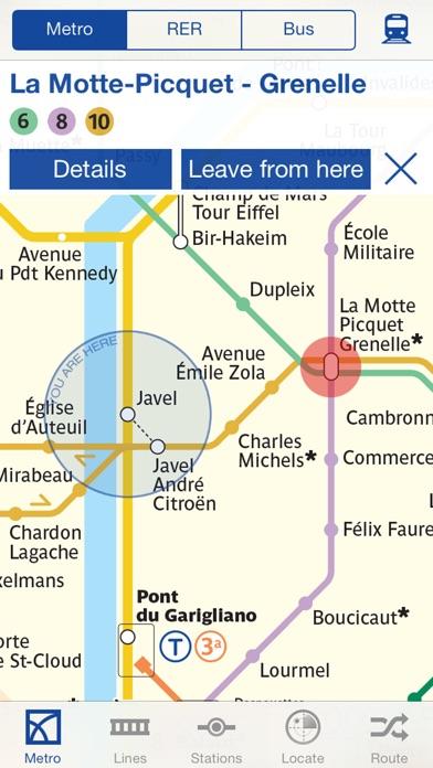 Metro Paris Map and Routes screenshot 3