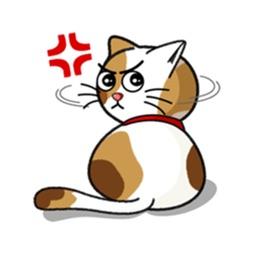 Lovely Cat CatMoji Sticker