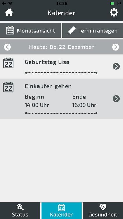 baseCON Bewohner-App screenshot-3