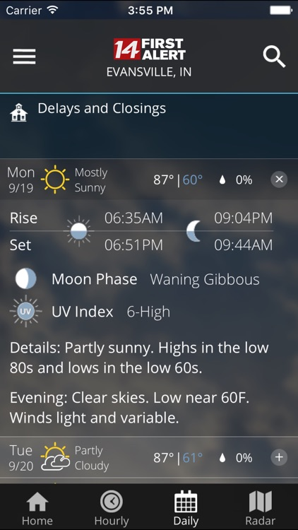14FirstAlert Weather TriState screenshot-4
