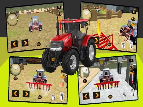 реальный Трактор имитатор на iPad