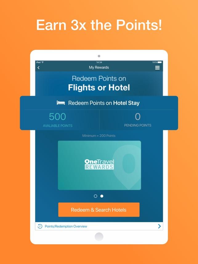 OneTravel Flight Hotel Deals On The App Store