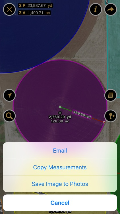 Planimeter - Measure Land Area & Distance on a Map