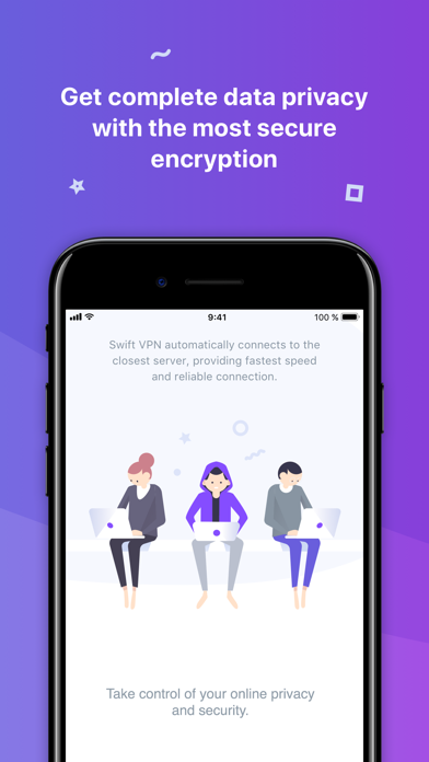 Swift VPN - Best Proxy Shield app image