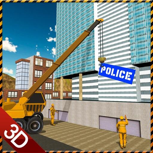 Police Station Builder Game