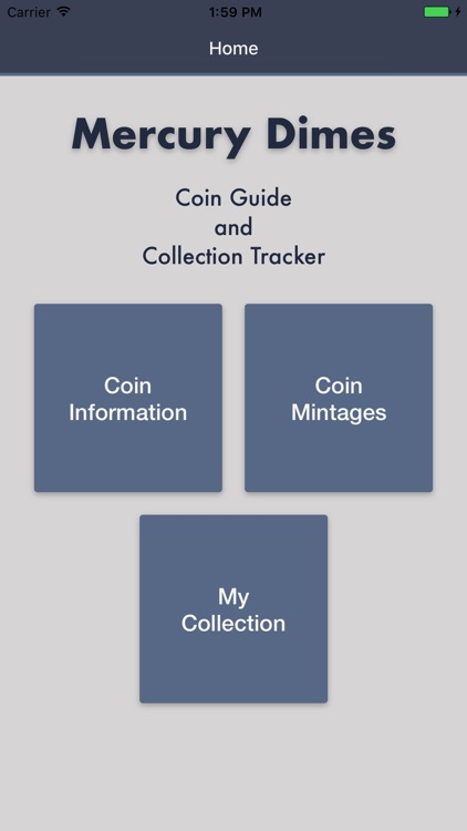 Mercury Dimes - Coin Guide & Collectoin Tracker screenshot-0