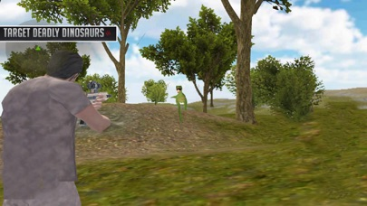 Experience Dino Forest Shootin screenshot three