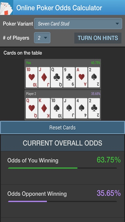 Poker Odds Calculator by CC screenshot-3