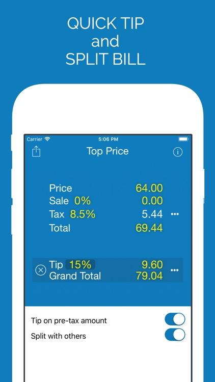 Top Price Sales Tax Calculator screenshot-3