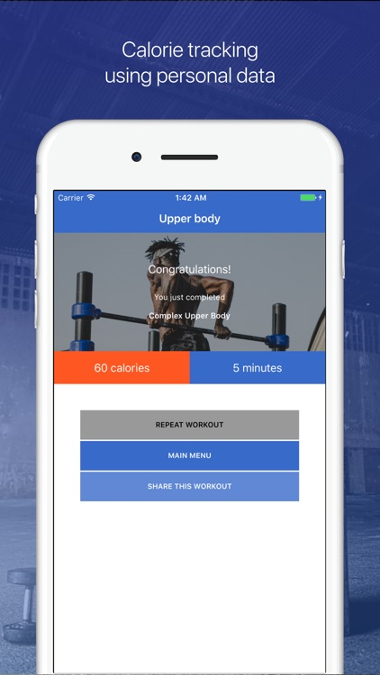 Upper Body Workouts by Fitify screenshot-3