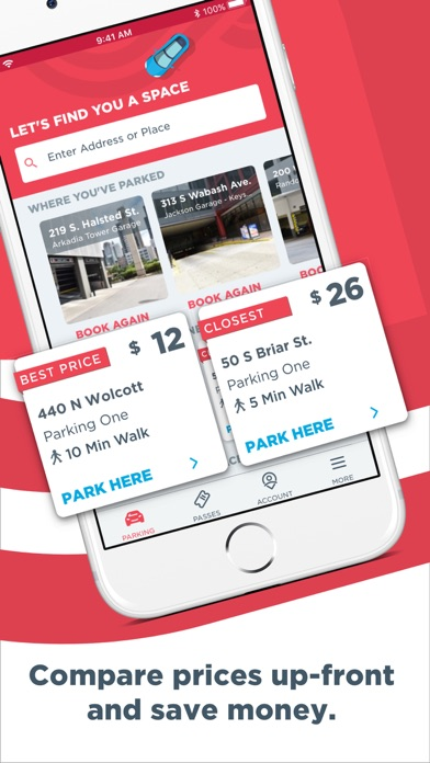 Screenshot for ParkWhiz - #1 Parking App in United States App Store
