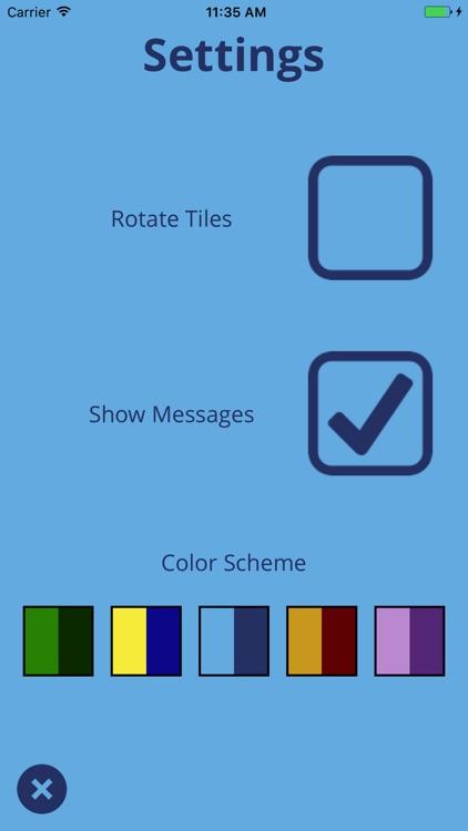 Sliding Tiles Puzzle screenshot-4