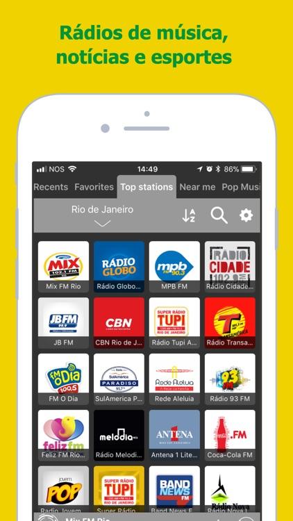 Radio FM Brasil: Radios Online screenshot-0