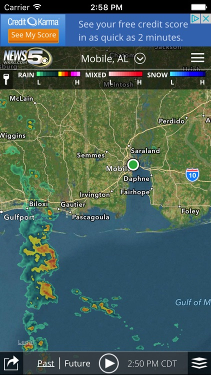 WKRG Weather screenshot-2