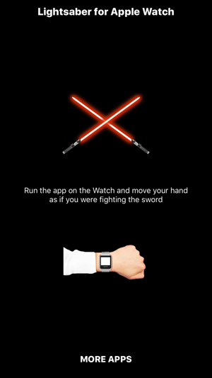 Lightsaber for Watch Screenshot